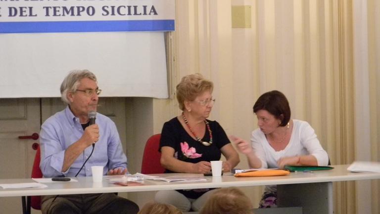 Armando Lunetta (BdT Caltanissetta), Nina Di Nuzzo (BdT Alì Terme) e Anna Ferreri (BdT Fiumefreddo di Sicilia).