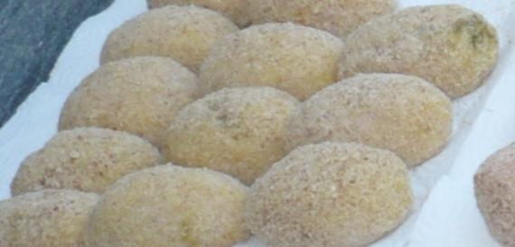 Arancine pistacchio