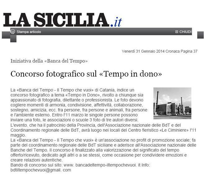 La Sicilia - tempo in dono