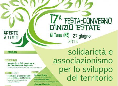17ª FESTA-CONVEGNO D'INIZIO ESTATE