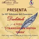 3^ edizione del concorso dialettale