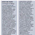 La Sicilia 18 ottobre 2016 – Gemellaggio con Malaga