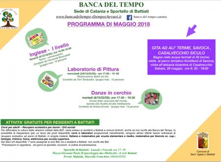 Programma maggioo 2018