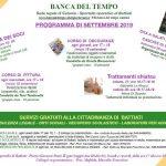 Programma Settembre 2019