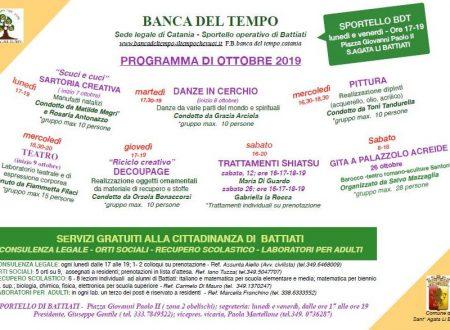 Programma ottobre 2019