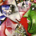 Io e il Villaggio di Marc Chagall