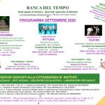Programma Settembre 2020